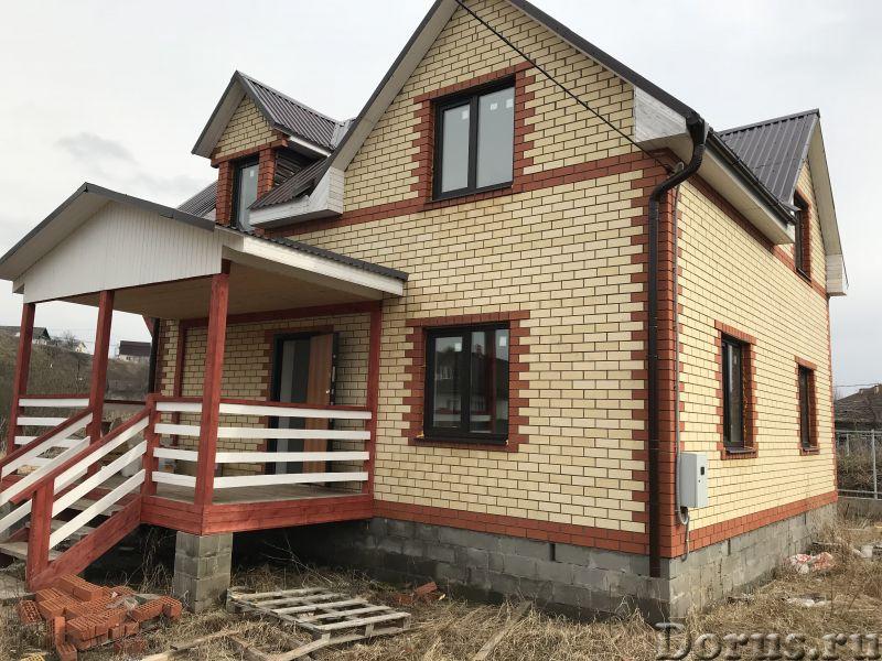 Новый кирпичный дом на берегу озеро-плещеево Ярославское шоссе 120 км от Москва - Дома, коттеджи и д..., фото 1