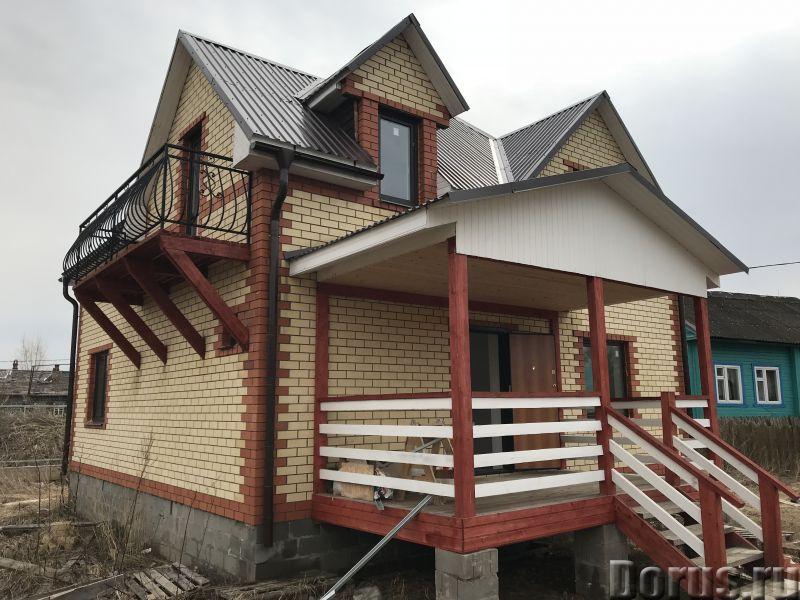 Новый кирпичный дом на берегу озеро-плещеево Ярославское шоссе 120 км от Москва - Дома, коттеджи и д..., фото 2