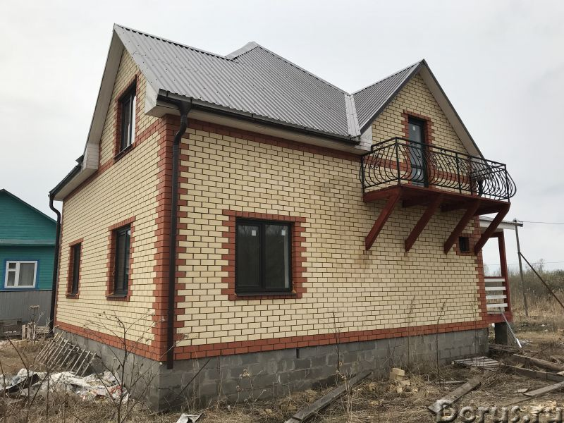 Новый кирпичный дом на берегу озеро-плещеево Ярославское шоссе 120 км от Москва - Дома, коттеджи и д..., фото 3
